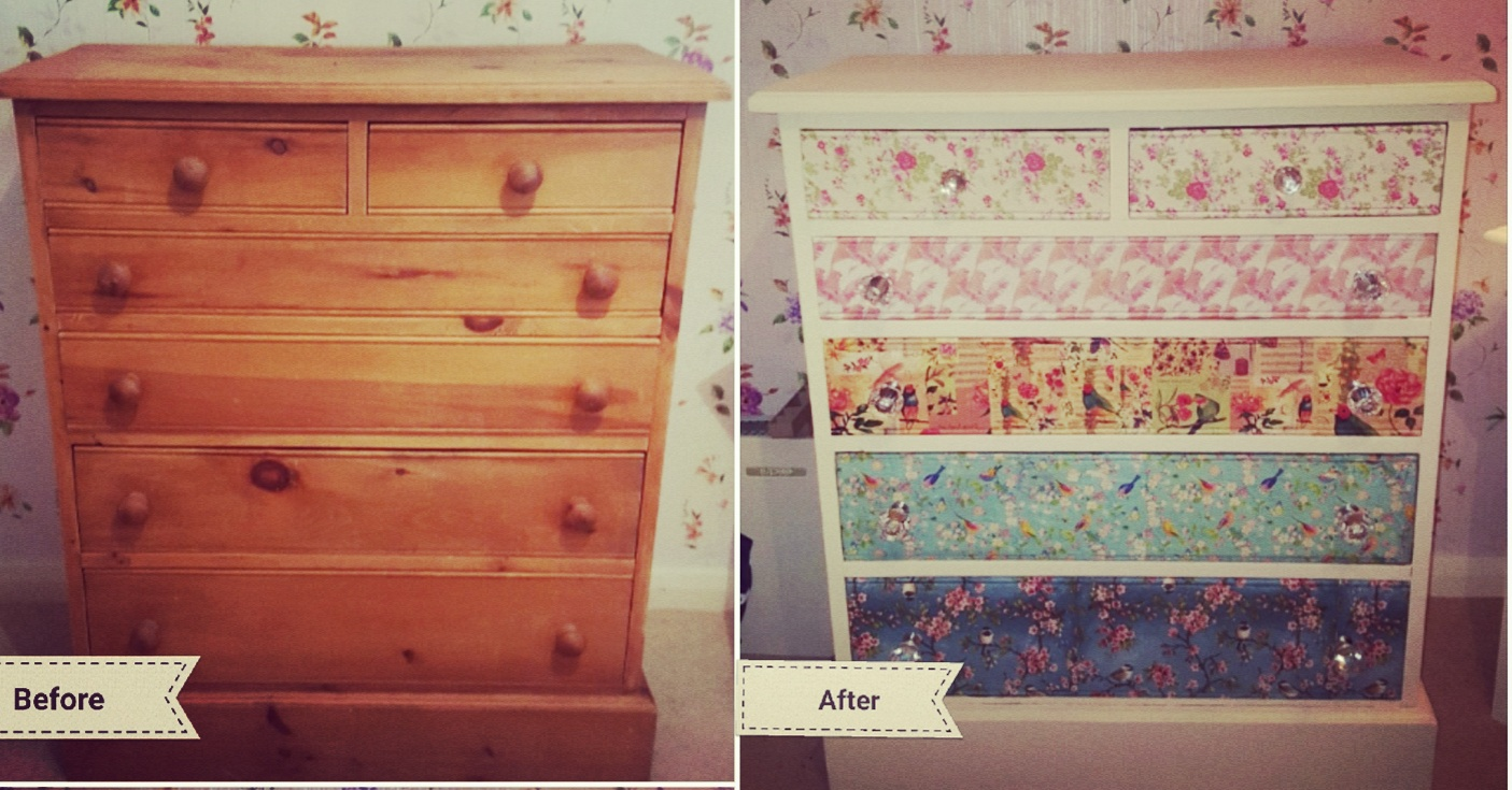 Upcycling An Old Pine Cupboard